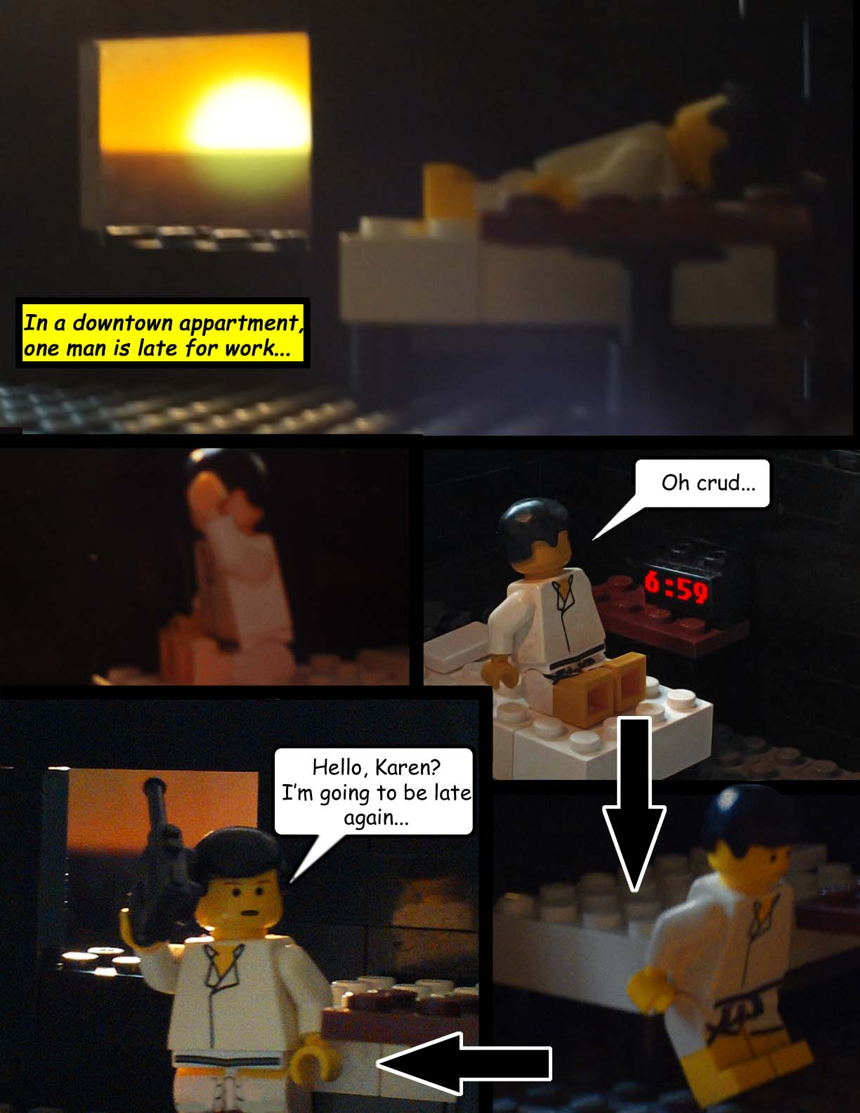 Zombie Outbrick: Episode 1
