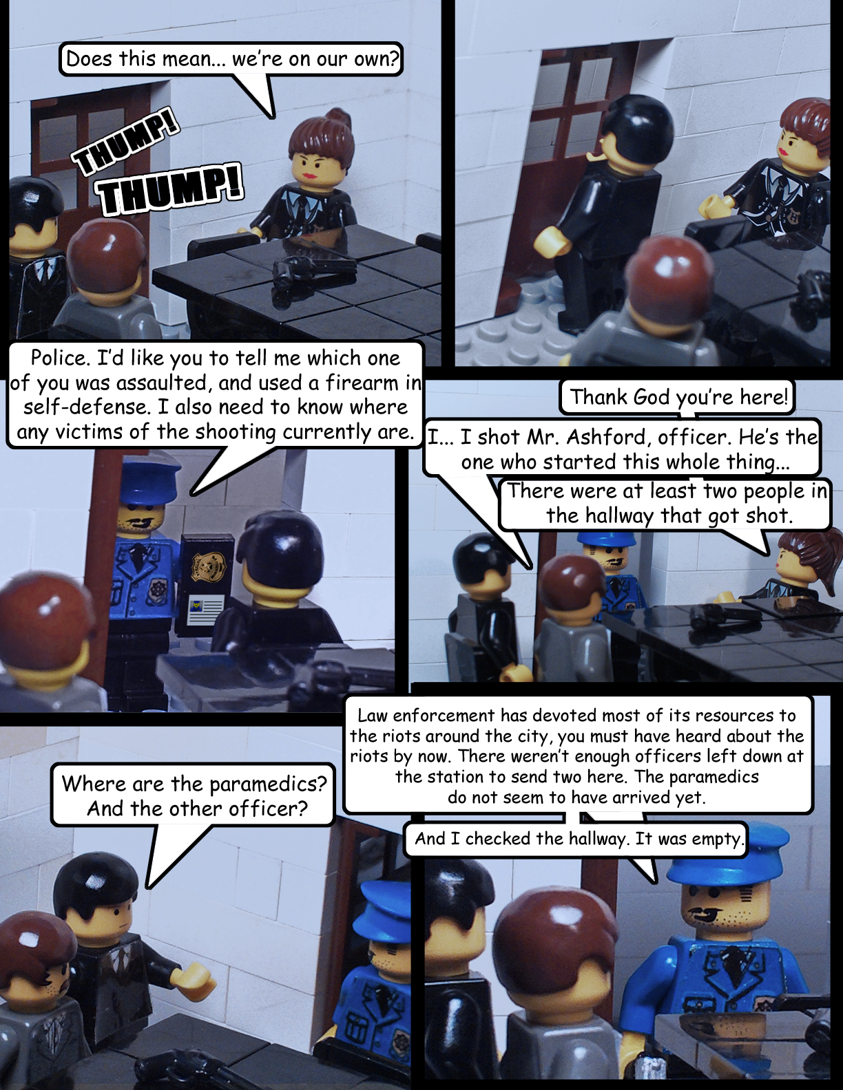 Zombie Outbrick: Episode 13