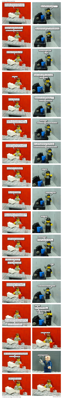 Guest Strip from Brick Earth Saga