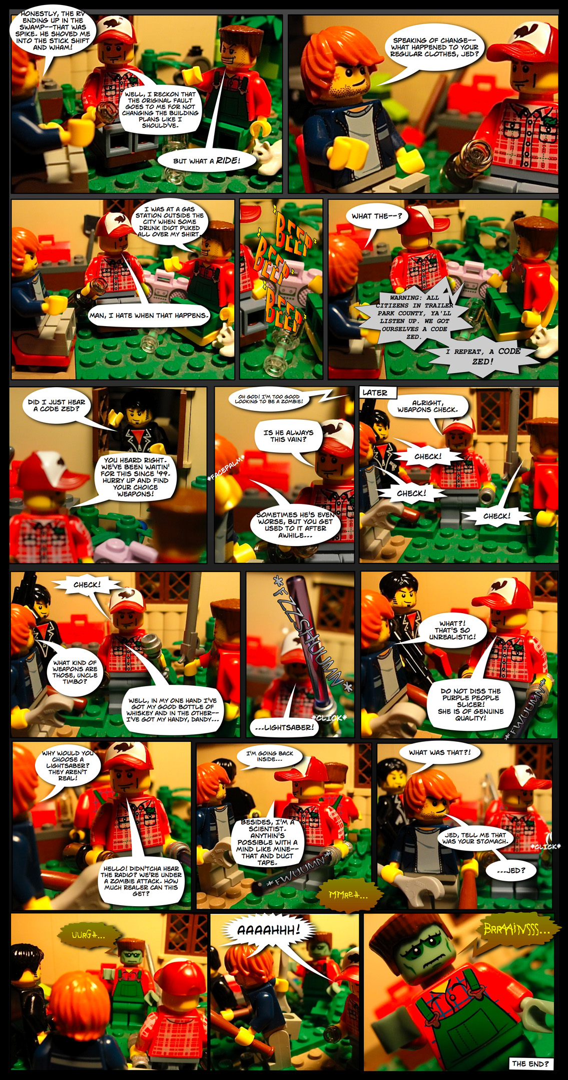 Guest Strip from The Misadventures of the Trailer Park Trio